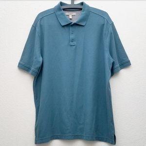 Nordstrom's Seafoam Green Polo Shirt